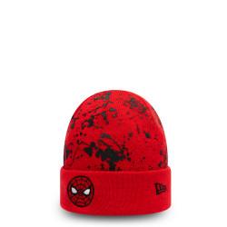 bonnet à revers spiderman character paint splat